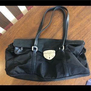 Authentic vintage Prada Tessuto purse - Nero